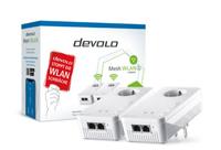 Devolo Mesh WLAN 2 Starter Kit 2400 Mbit/s Eingebauter Ethernet-Anschluss Weiß 2 Stück(e) (Weiß)