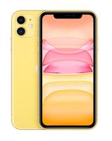 Apple iPhone 11 15,5 cm (6.1 Zoll) Dual-SIM iOS 14 4G 128 GB Gelb (Gelb)