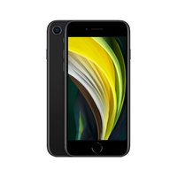 Apple iPhone SE 11,9 cm (4.7 Zoll) Hybride Dual-SIM iOS 14 4G 64 GB Schwarz (Schwarz)