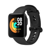 Xiaomi Mi Watch Lite Sportuhr Touchscreen Bluetooth 320 x 320 Pixel Schwarz (Schwarz)