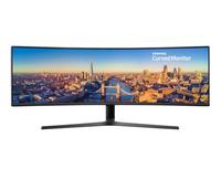 Samsung C49J890DKR 124,5 cm (49 Zoll) 3840 x 1080 Pixel QLED Schwarz (Schwarz)