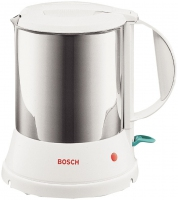 Bosch TWK1201N Wasserkocher (Edelstahl, Weiß)
