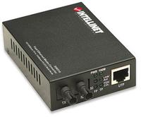 Intellinet 506519 network media converter (Schwarz)