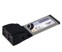 Sonnet 4-Port USB 2.0 ExpressCard/34 (Schwarz)