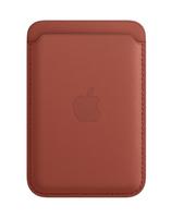 Apple MK0E3ZM/A Handy-Schutzhülle 17 cm (6.7 Zoll) Geldbörsenhülle Braun (Braun)