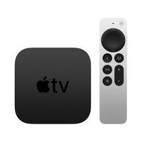 Apple TV 4K Schwarz, Silber 4K Ultra HD 32 GB WLAN Eingebauter Ethernet-Anschluss (Schwarz, Silber)