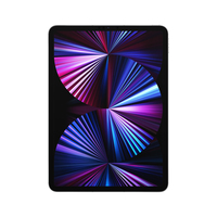 Apple iPad Pro 5G TD-LTE & FDD-LTE 1024 GB 27,9 cm (11 Zoll) Apple M 16 GB Wi-Fi 6 (802.11ax) iPadOS 14 Silber (Silber)
