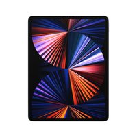 Apple iPad Pro 128 GB 32,8 cm (12.9 Zoll) Apple M 8 GB Wi-Fi 6 (802.11ax) iPadOS 14 Grau (Grau)