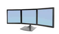 Ergotron DS Series DS100 Triple Monitor Desk Stand (Schwarz)