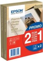 Epson Premium Glossy Photo Paper – 2 für 1, 100 x 150 mm, 255 g/m², 80 Blatt