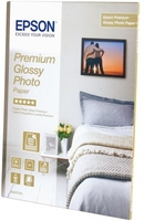 Epson Premium Glossy Photo Paper, DIN A4, 255g/m², 15Blatt