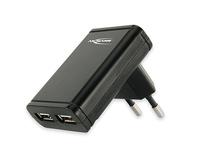 Ansmann Dual USB Charger Slim (Schwarz)