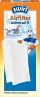 Swirl Airfilter Universal 11 (Weiß)