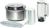 Bosch MUM6N21 Küchenmaschine (Edelstahl, Weiß)