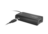 Kensington Laptop Power Adapter mit USB für Dell (Schwarz)