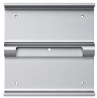 Apple MD179ZM/A Flat Panel Wandhalter (Silber)