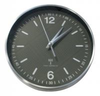 TFA 60.3503 Wanduhr (Aluminium, Schwarz)