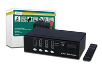 Digitus DS-45211 Video-Switch (Schwarz)