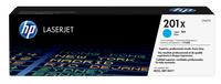 HP 201X Cyan Original LaserJet Tonerkartusche mit hoher Reichweite