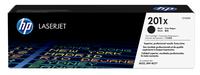 HP 201X Schwarz Original LaserJet Tonerkartusche mit hoher Reichweite