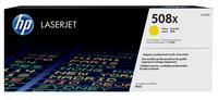 HP 508X Gelb Original LaserJet Tonerkartusche mit hoher Reichweite