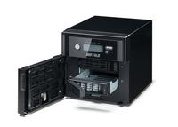 Buffalo TeraStation 5200DWR 4TB NAS Eingebauter Ethernet-Anschluss Schwarz (Schwarz)