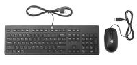 HP T6T83AA USB Schwarz Tastatur (Schwarz)