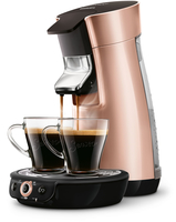 Senseo Viva Café Kaffeepadmaschine HD7831/30 (Kupfer)