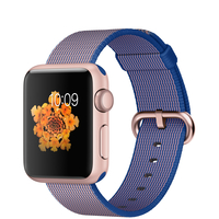 Apple Watch Sport (Blau, Gold)