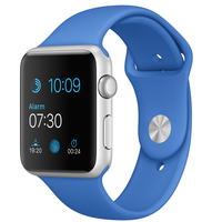 Apple Watch Sport (Blau, Silber)