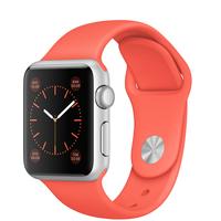 Apple Watch Sport (Koralle, Silber)