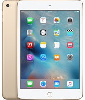 Apple iPad mini 4 128GB 3G 4G Gold Tablet (Gold)