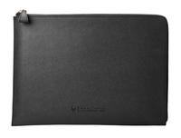 HP Spectre Leder-Schutzhülle (Reißverschluss), schwarz, 13,3 Zoll (Schwarz)