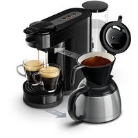 Senseo Pad- und Filterkaffeemaschine (Schwarz)
