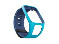 TomTom Runner 3-/Spark 3-Wechselarmband (Hellblau/Dunkelblau – Schmal) (Blau)