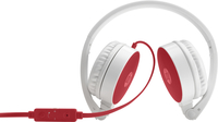 HP 2800 Stereo-Kopfhörer, rot (Rot, Weiß)
