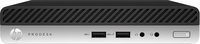 HP ProDesk 400 G3 Desktop-Mini-PC (Schwarz)