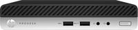 HP ProDesk 400 G3 Desktop-Mini-PC (ENERGY STAR) (Schwarz, Silber)