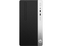 HP ProDesk 400 G4 Microtower-PC (Schwarz)