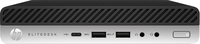 HP EliteDesk 800 G3 Desktop-Mini-PC (65 W) (Schwarz, Silber)