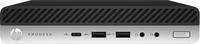 HP ProDesk 600 G3 Desktop-Mini-PC (ENERGY STAR) (Schwarz, Silber)