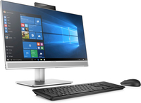 HP EliteOne 800 G3 All-in-One-PC mit 23,8 Zoll Diagonale, ohne Touch-Funktion (Schwarz, Silber)