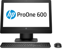 HP ProOne 600 G3 All-in-One-PC mit 21,5 Zoll Diagonale, ohne Touch-Funktion (Schwarz)