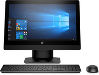 HP ProOne 400 G3 All-in-One-PC mit Touch-Funktion und 20 Zoll Diagonale (Schwarz)