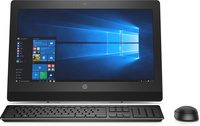 HP ProOne 400 G3 All-in-One-PC mit 20 Zoll Diagonale, ohne Touch-Funktion (Schwarz)
