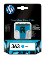 HP 363 Cyan Original Tintenpatrone