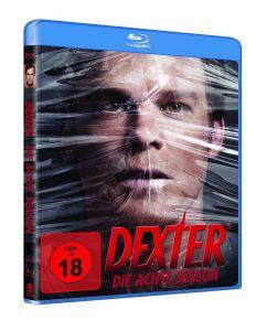 Dexter - Staffel 8, Blu-Ray