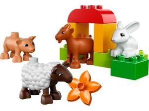 Lego Duplo 10522 - Bauernhof-Tiere (Mehrfarbig)