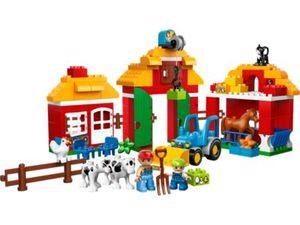 Lego Duplo 10525 - Großer Bauernhof (Mehrfarbig)