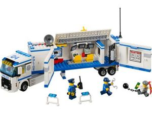Lego City 60044 - Polizei-Überwachungs-Truck  (Mehrfarbig)